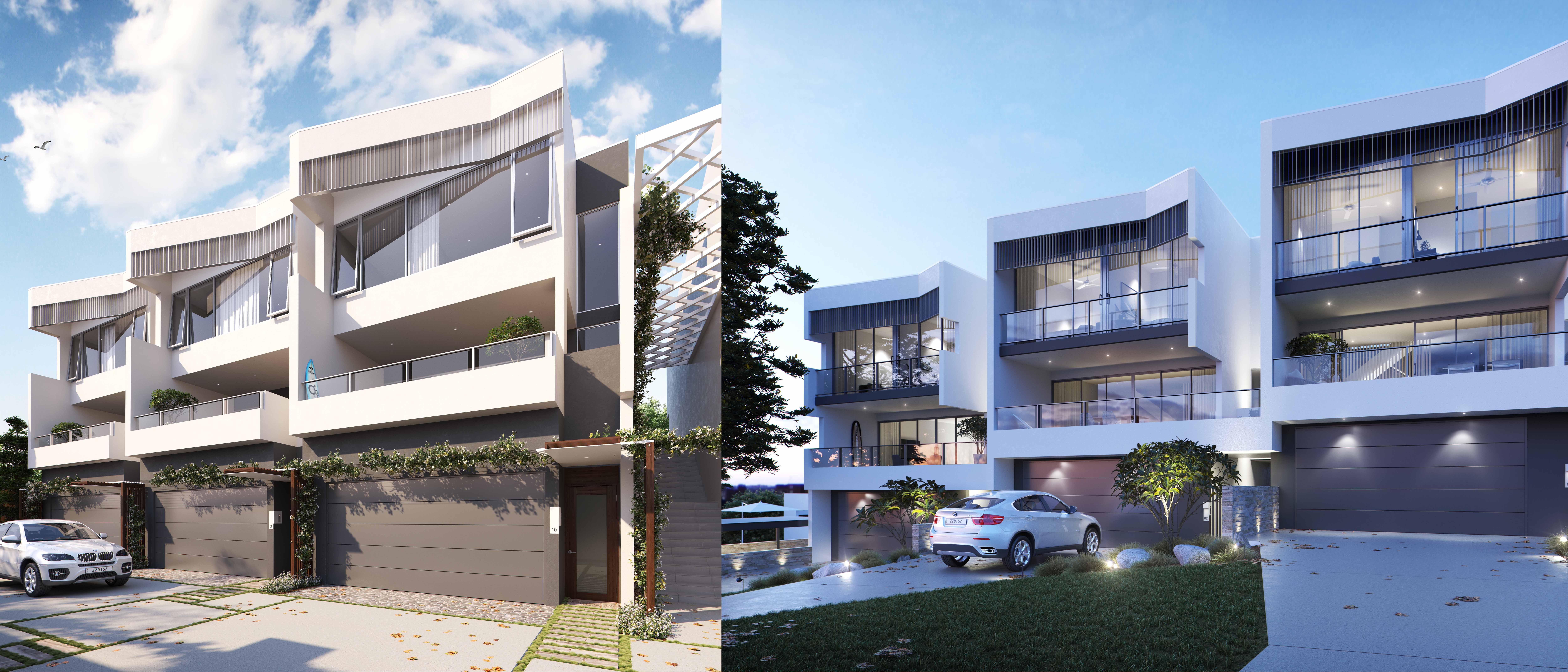 The Beach Houses O Neill Architects